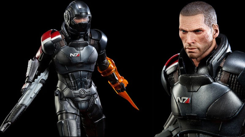 Commander Shepard's $350 Statue Looks Lonely Without Tiny Plastic Space Hamsters