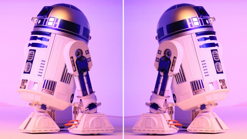 The Wait For a Remote Control R2-D2 Hi-Def Projector Refrigerator Is Almost Over
