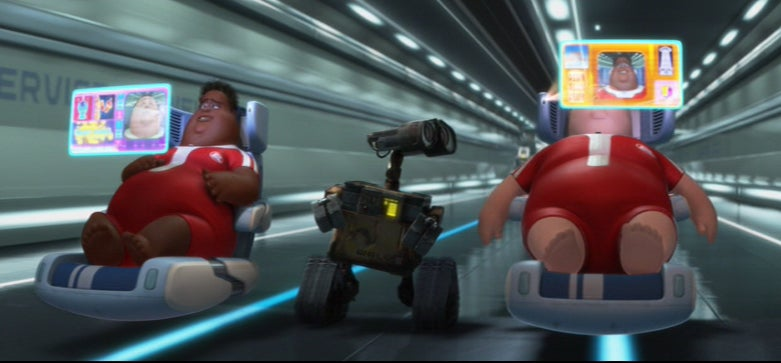 Chevy Assembly Line Workers Ride Around on Wall-E-Style Floating Chairs