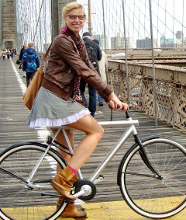 Skirted Cycling the Latest NYC Biking 'Crime'