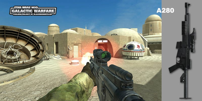 Call Of Duty 4, Meet Star Wars
