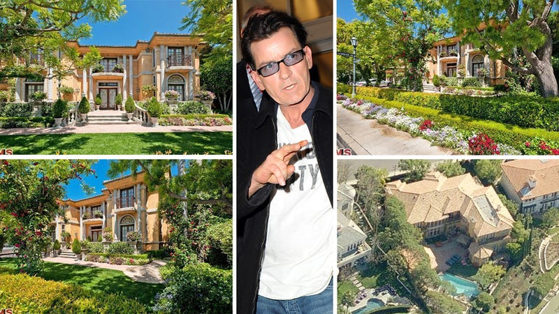For Sale: One Charlie Sheen Crash Palace