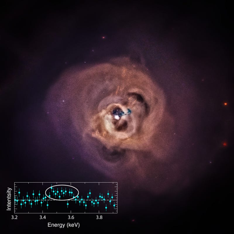 X-Rays in Perseus May Be the Signature of Dark Matter