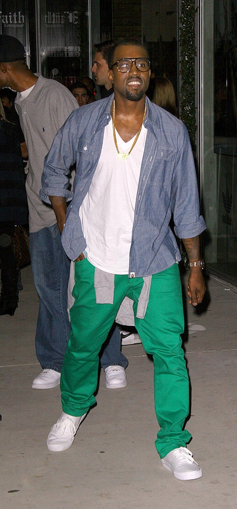 Is Kanye Wearing Scrubs?
