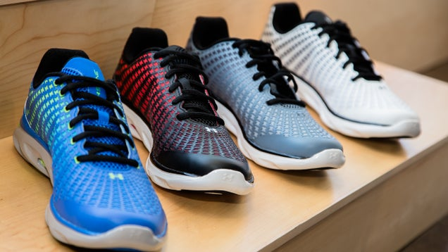 Under Armour's Clutchfit Shoes Conform to the Shape of Your Movement