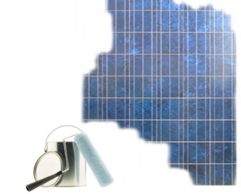 Scientist's New Solar Panel Tech: Paint Your Home For Power