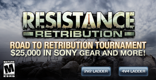 $25K Resistance: Retribution PSP Tourney