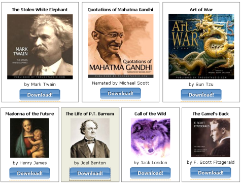 Get free audiobooks from Simply Audiobooks