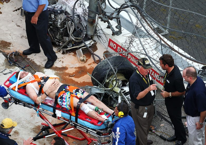 A Collection Of Photos From NASCAR's Wild Day At Daytona