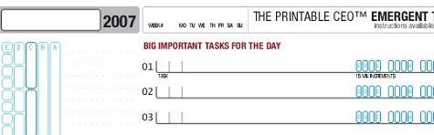 Download of the Day: Emergent Task Planner 2007 (All platforms)