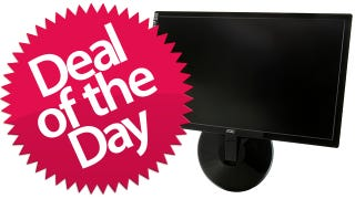 "This 23"" LED Monitor Is Your Ten Eighty Peas Deal of the Day"