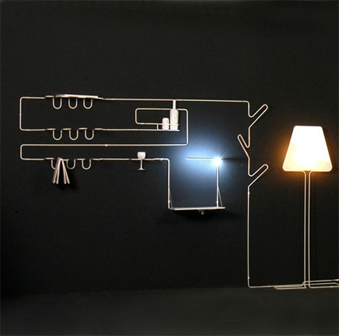The Line System Creates All Your Furniture With A Single Line