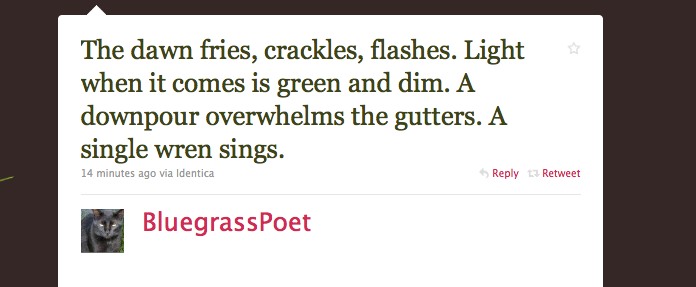 A Compendium Of Horrible, Horrible Twitter Poetry