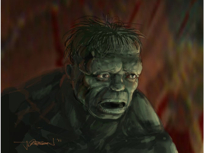 The Sad-Faced Hulk We Could Have Seen in Ang Lee's Movie