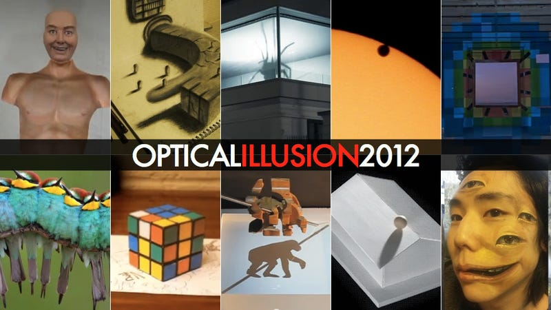 The Absolute Best Optical Illusions of 2012