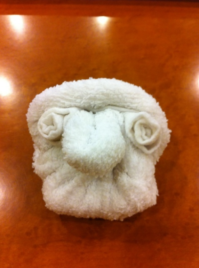 Japanese Towel Art to Delight and Amaze