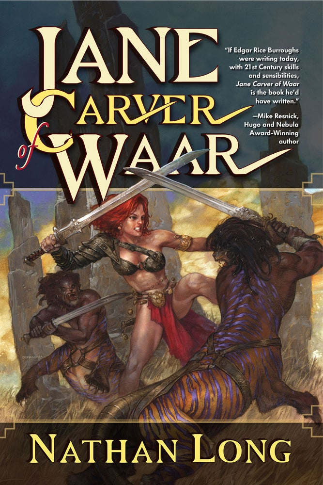 Exclusive Excerpt from the Gender-Swapped John Carter Novel!