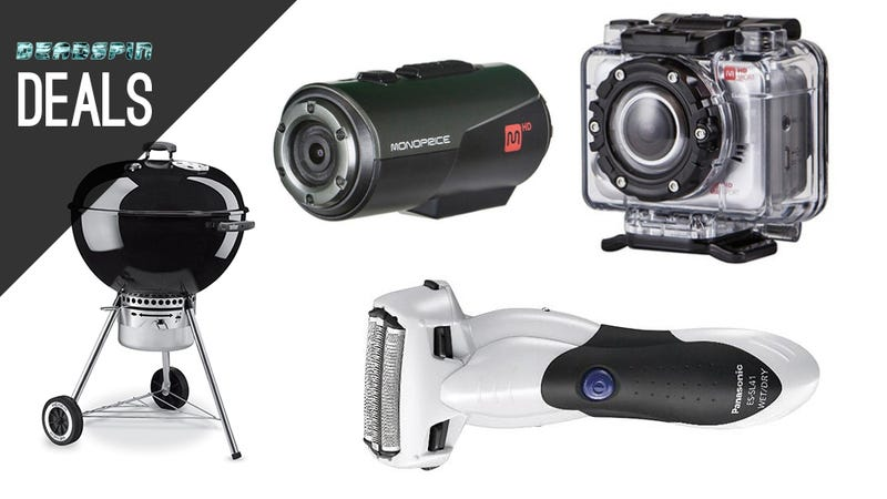 Action Cams, Electric Razors, and Grills in Today's Deadspin Deals