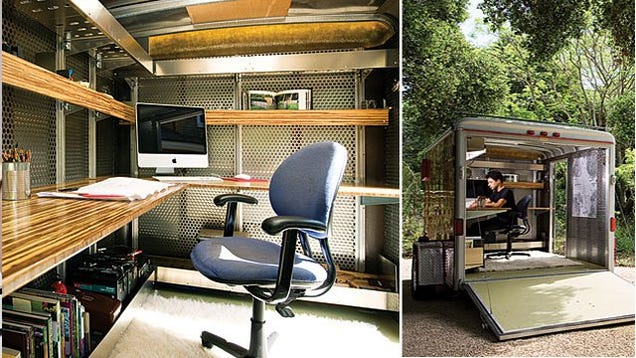 The Workspace On Wheels