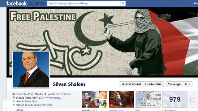 Israeli Vice Prime Minister Silvan Shalom Has Been Hacked by Anonymous