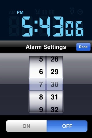 Review: LCD Clock iPhone App Proves to Be Wimpy