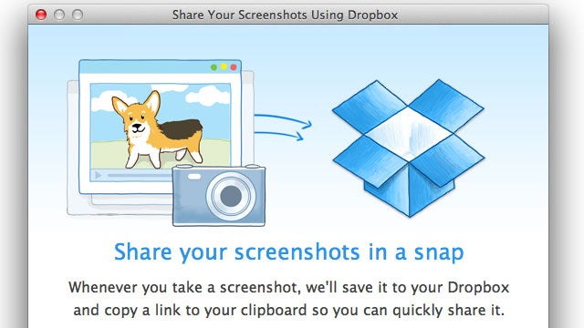 Dropbox Updates with Automatic Screenshot Saving and iPhoto Importing