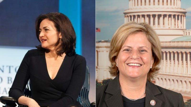 Lean In Promotes Anti-Feminist Congresswoman