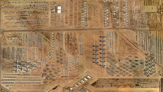 A fascinating view into the US Air Force boneyards