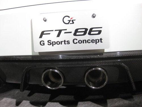 Toyota FT-86 G Sports Concept: Tokyo Salon Photos
