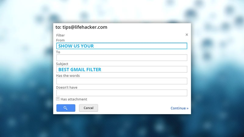 Show Us Your Best Gmail Filters