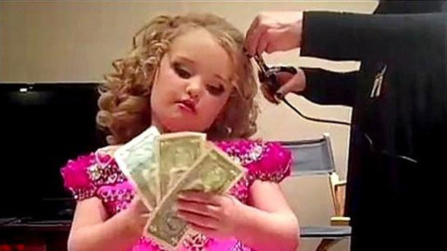 Honey Boo Boo Joins Ranks of Big Money Earners Like Justin Bieber and Taylor Swift