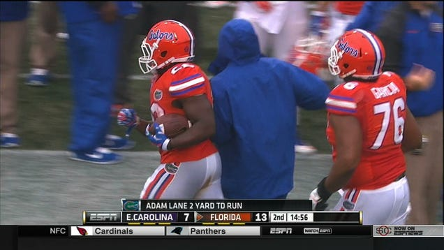 Florida Running Back Shits Pants