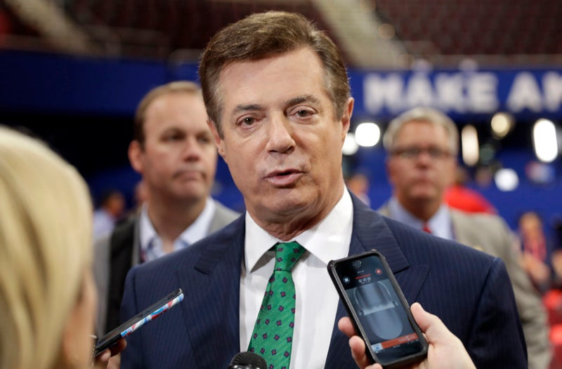Report: Secret Ledger Lists $12 Million to Trump Campaign Chief FromPro-Russian Party in Ukraine