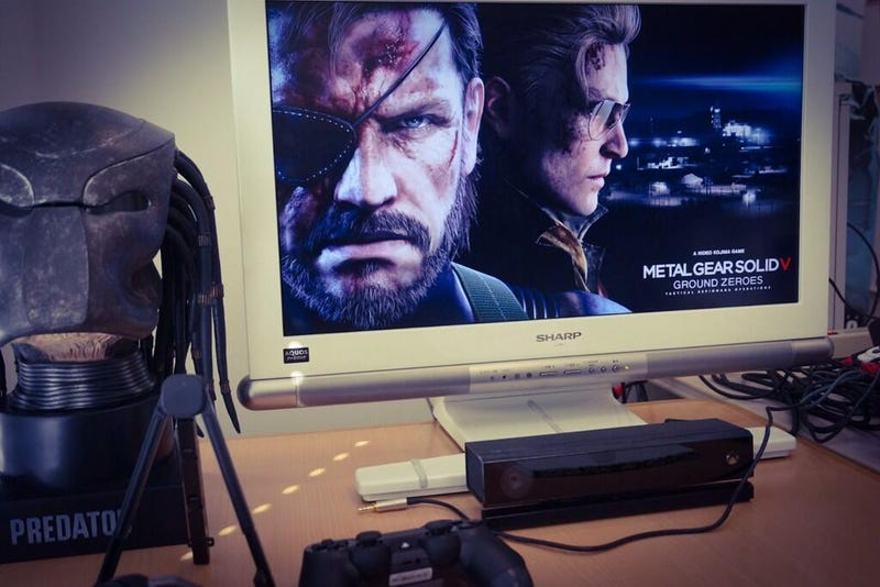 Kojima Torments Fans with Photos of the Next Metal Gear on PS4