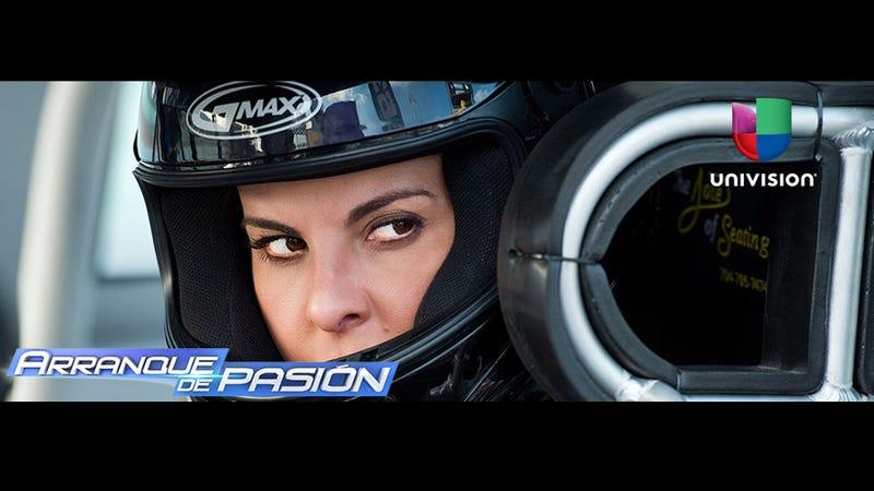 A NASCAR telenovela debuts on Univision next week