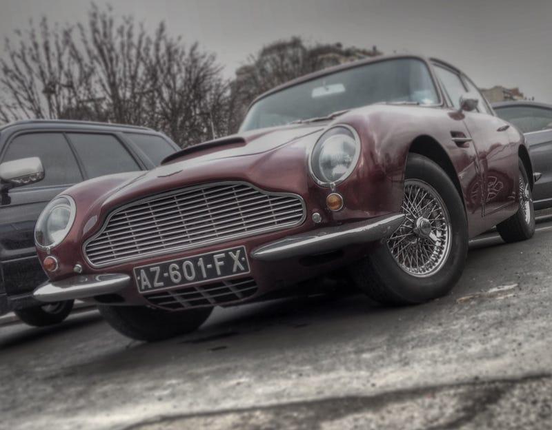 Aston Martin DB6 - Street Parked in Paris