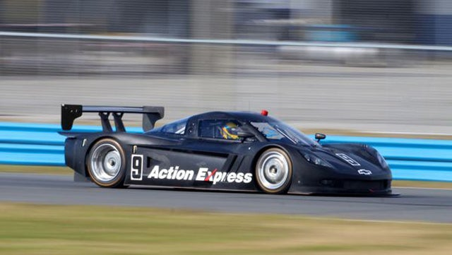 2012 Corvette Daytona Prototype gets some action