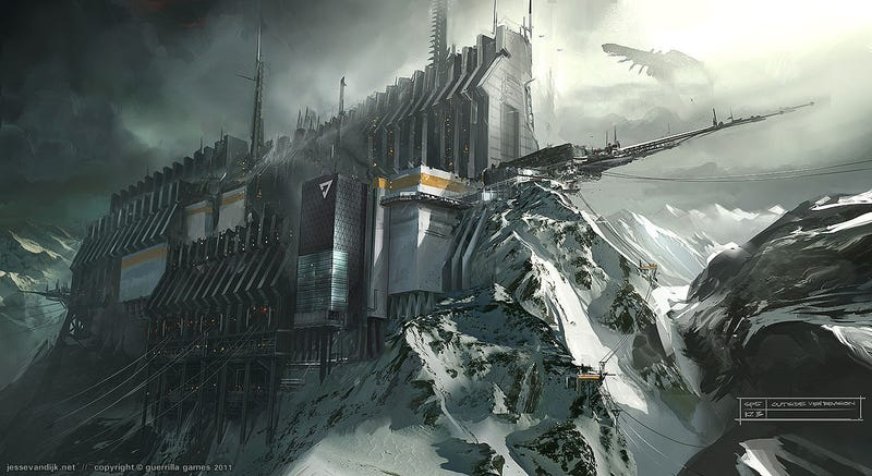 Killzone Has Never Looked Prettier Than In This Killzone 3 Art