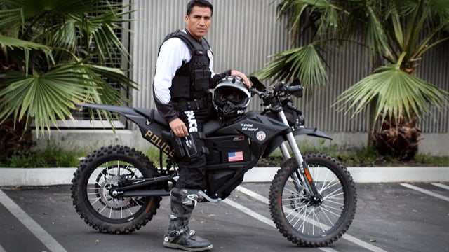 LAPD's Super Badass Tactical Electric Motorcycles Are Here For Justice