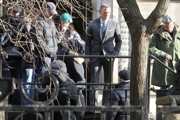 Skyfall Set Pictures