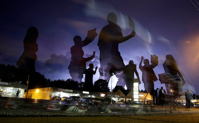 "Six Arrested During ""Mostly Quiet"" Night of Protests in Ferguson"