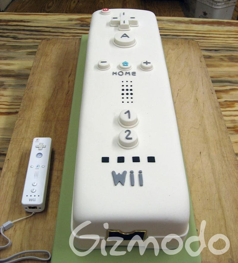 Brooklyn Pastry Chef Crafts Perfect, Gigantic Wiimote Cake