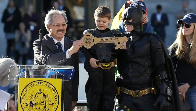​Oscars Cut Surprise Batkid Segment At the Last Minute