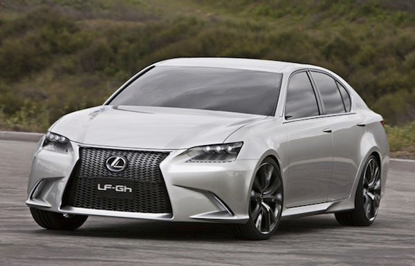 Lexus LF-Gh concept is a contradiction wrapped in an enigma wrapped in a mess of beige styling