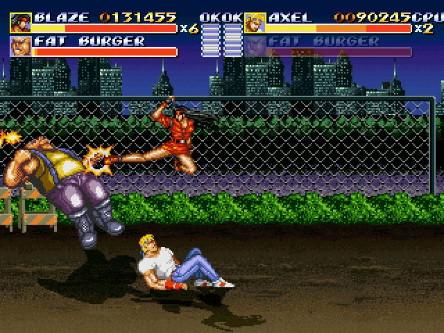 Fan-Made Streets Of Rage Remake Pulled After Request From Sega