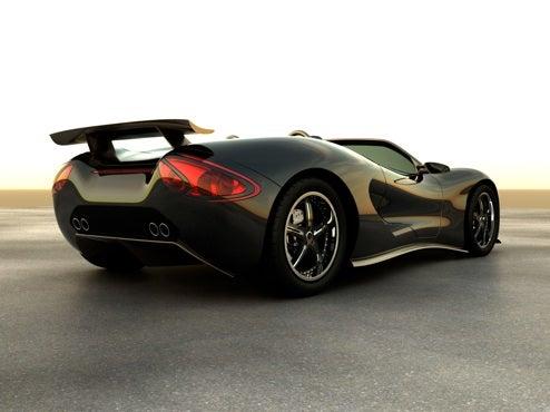 Scorpion Supercar Uses Hydrogen Hybrid Engine to get 40MPG
