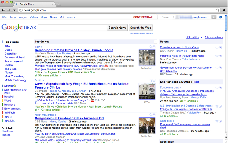 Is This What Google +1 Is Going To Look Like?