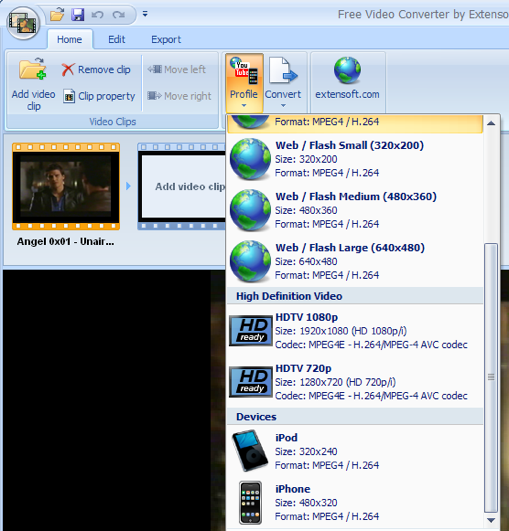 Free Video Converter Edits and Converts Your Video Files