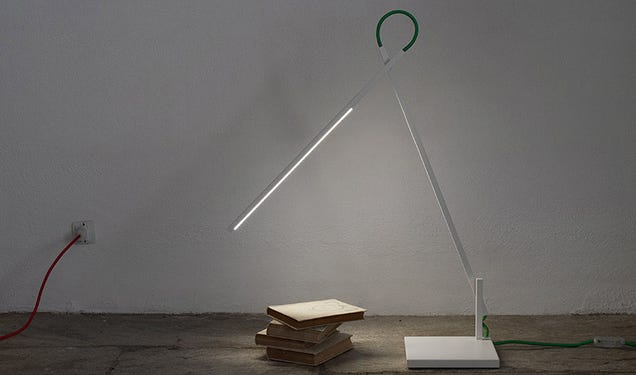 This Lamp Is a Line of Light That You Can Twist to Your Heart's Content