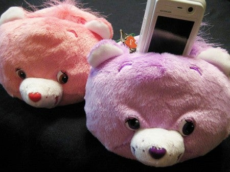 Lobotomized Care Bear Cellphone Stand Teaches Kids About the Harsh Realities of Life